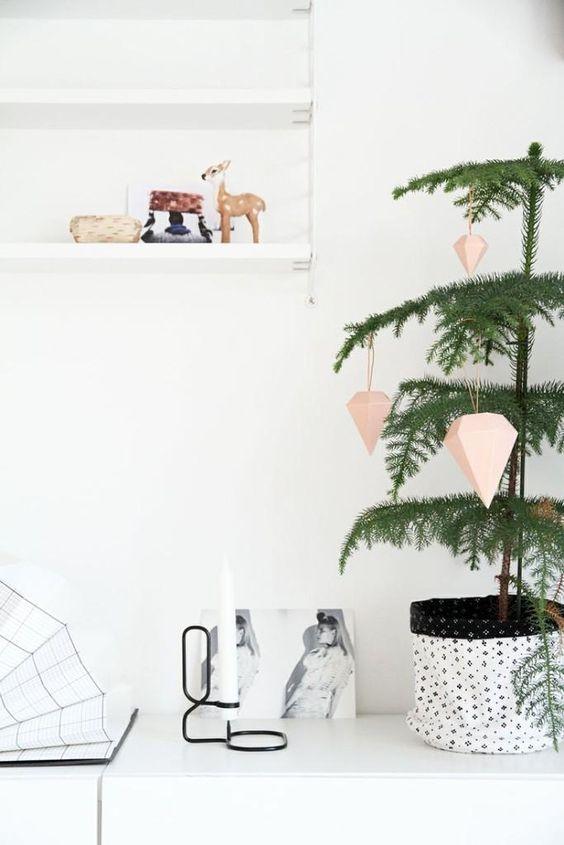 Menos es m s decoraci n navide a minimal y serena para tu hogar - Decoracion navidena minimalista ...