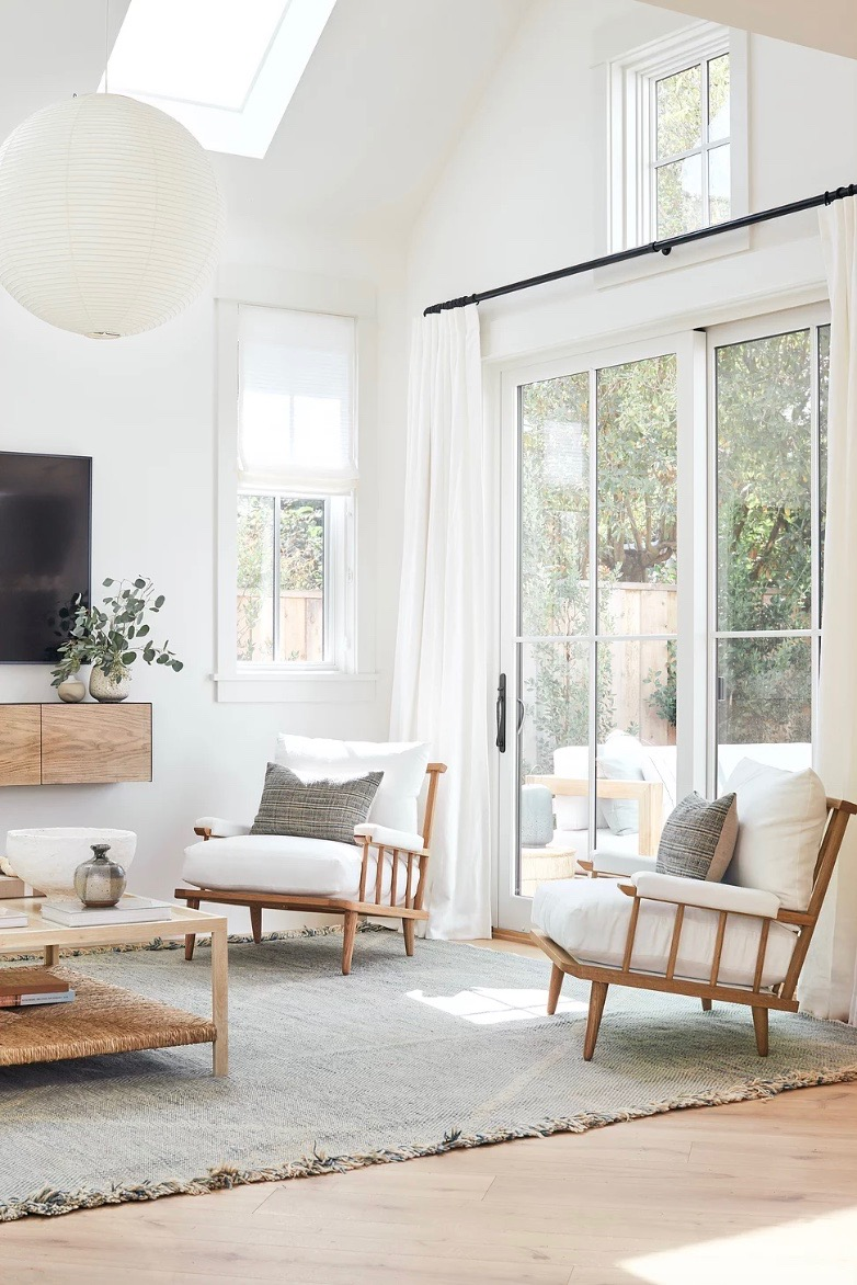 casa blanco y beige