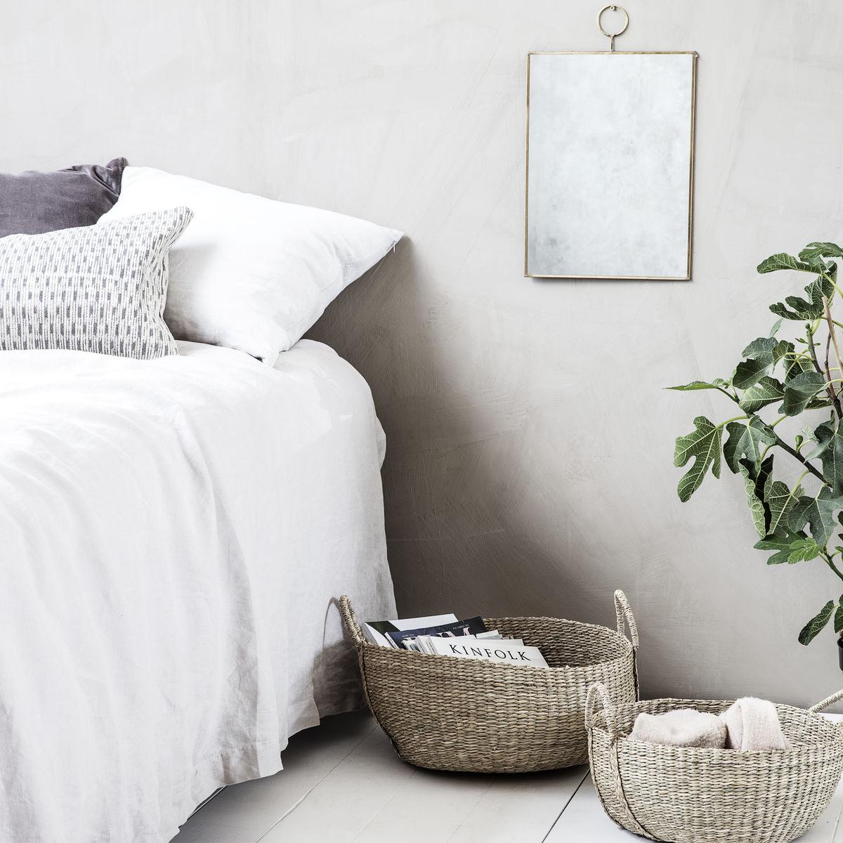 dormitorio fibras naturales
