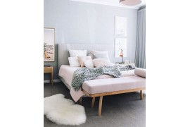 Ideas para decorar los pies de la cama